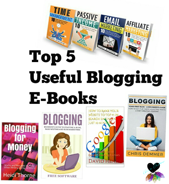 Top 5 Useful Blogging E-Books