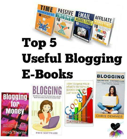 Top 5 Useful BloggingE-Books
